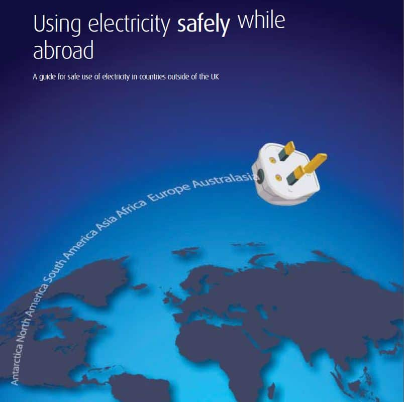 Electrical safety abroad